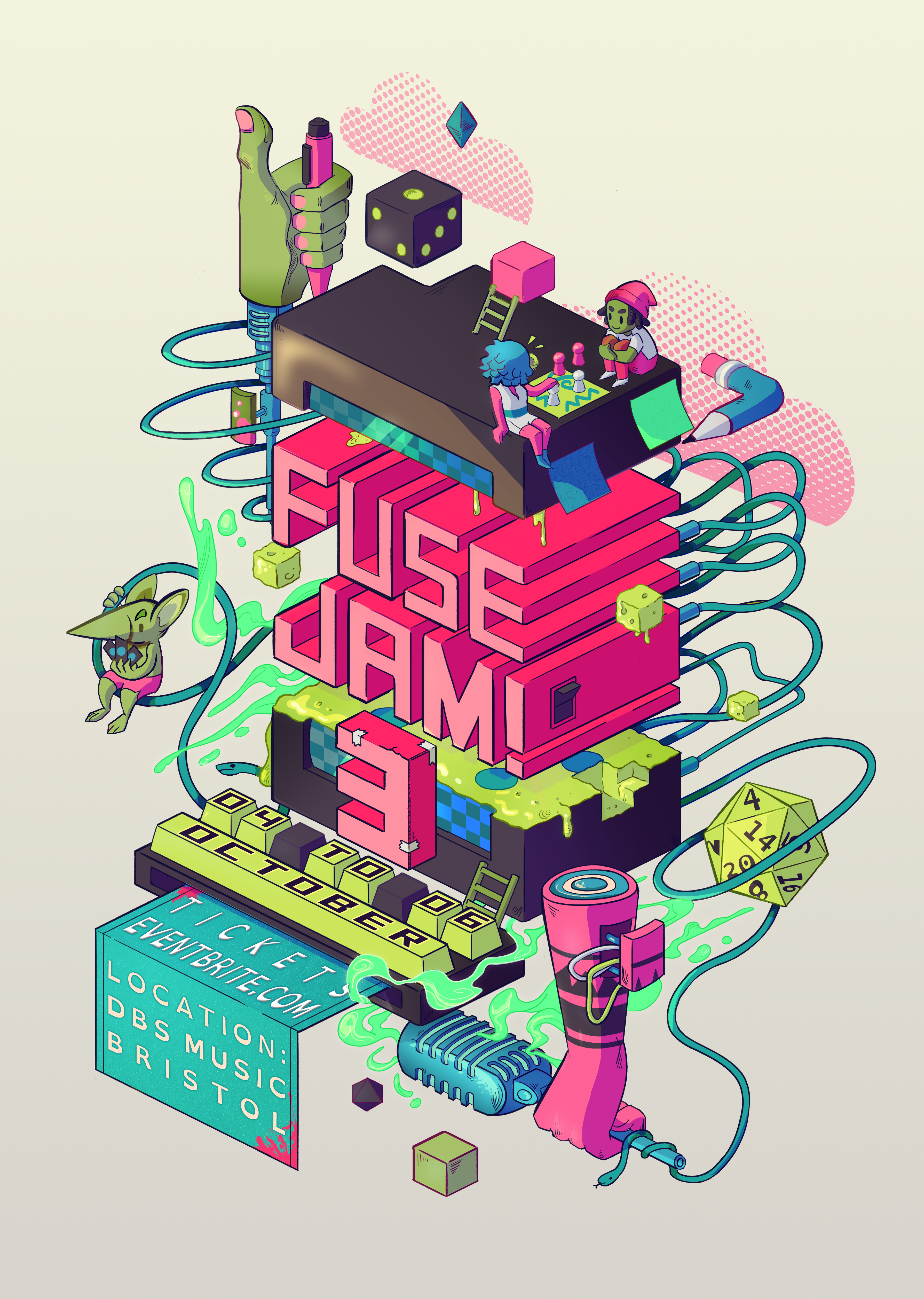 fuse jam poster